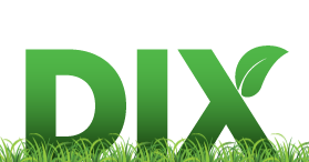 dix lawncare logo